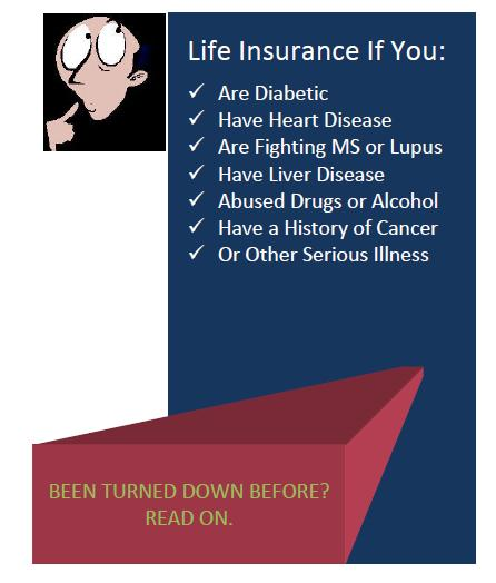 Can you get life insurance with your health history?